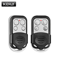 2 pçs/lote RC528 KERUI Controle Remoto Sem Fio Metálico Para O Sistema de Alarme de Segurança Sem Fio