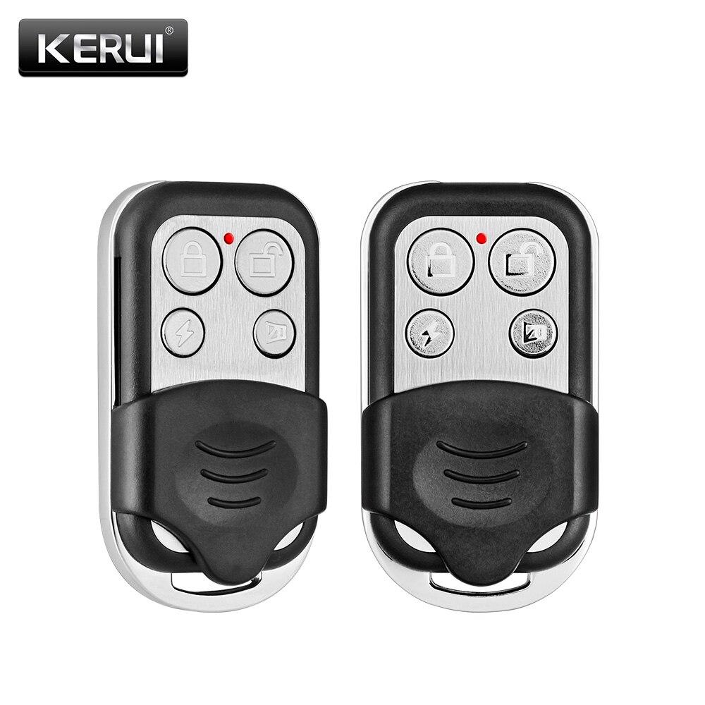2 unids/lote KERUI RC528 inalámbrico de Control remoto inalámbrico sistema de alarma de seguridad