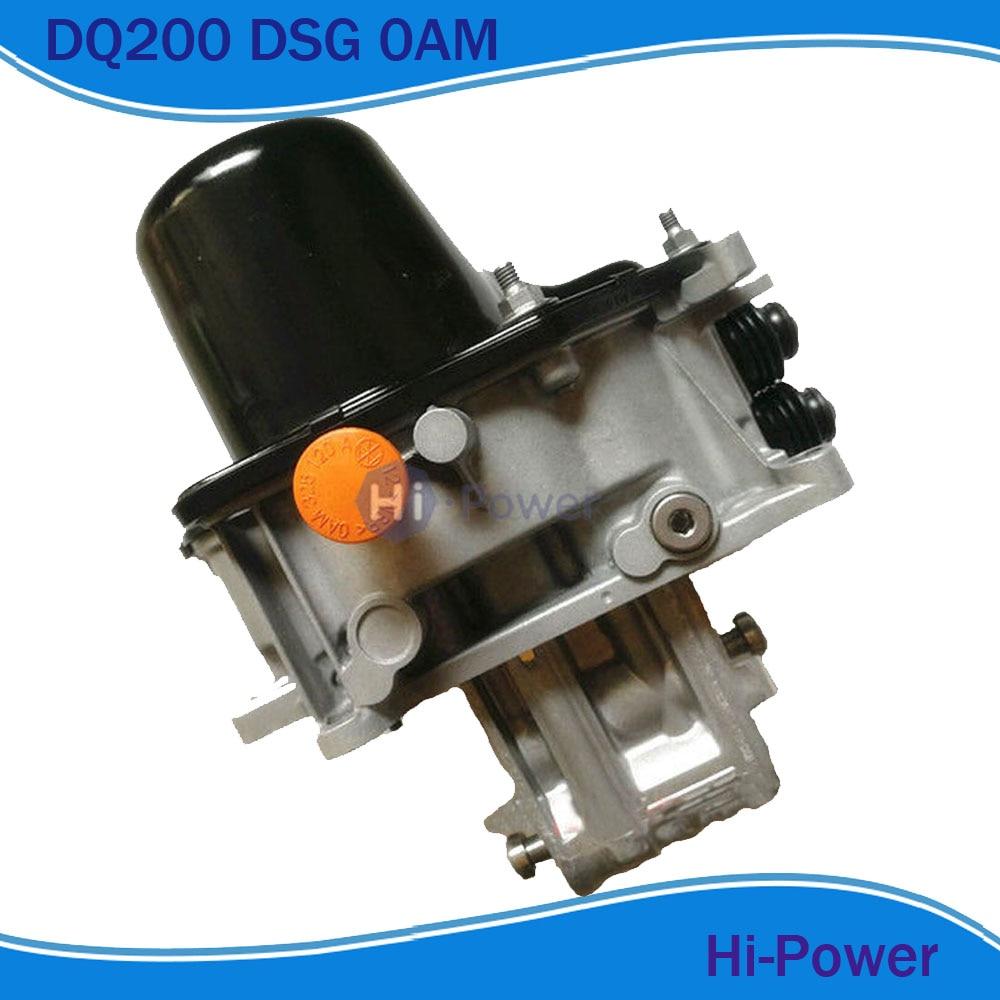 DQ200 0 AM DSG électrovannes de Transmission corps pour Audi VOL KSWAGEN Skoda 7 vitesses remis à neuf