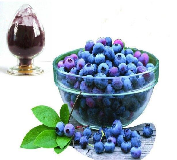 Blueberry Extract Bulk Powder, 25% Anthocyanin 100 Grams motorcycle cnc front brake reservoir fluid cap cover for kawasaki z250 z750r 11 15 z1000 10 15 gtr1400 07 15