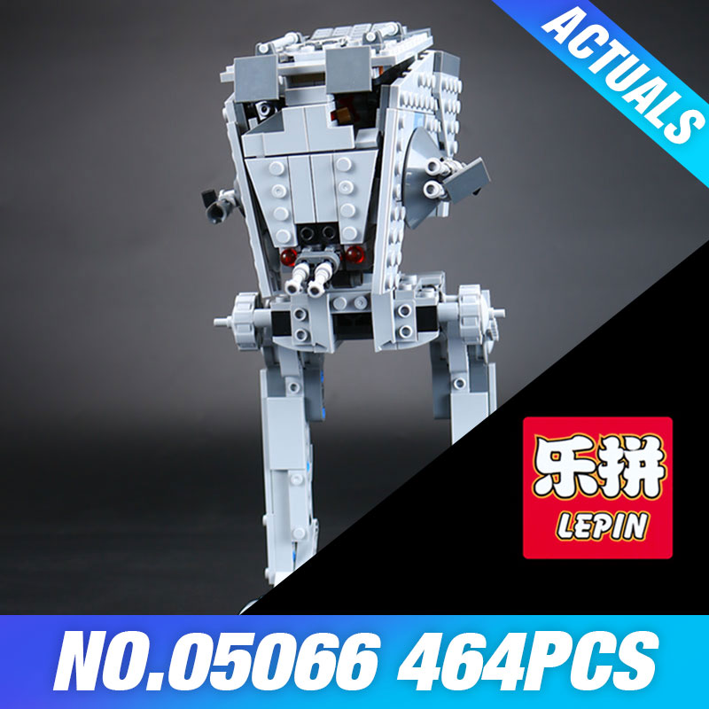 Lepin 05066 Star Genuine Wars Series The Rogue One  AT Walker ST Building Blocks Bricks Educational DIY Toy 75153 for Children 1pc imperial death trooper rogue one 75156 diy figures star wars superheroes assemble building blocks kids diy toys xmas