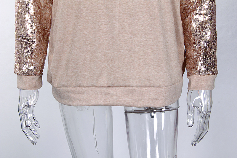 Sequin Long Sleeve T-Shirt 4