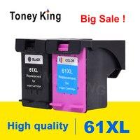 Toney King 61 XLตลับหมึกเปลี่ยนสำหรับHP61 สำหรับHP Deskjet 3000 3050 3052 3054 3540 1010 1510 เครื่องพิมพ์