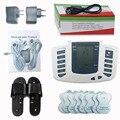 Электрический стимулятор для всего тела, расслабляющий массажер для мышц, импульсный акупунктурный массажер с терапевтическими шлепанцам...