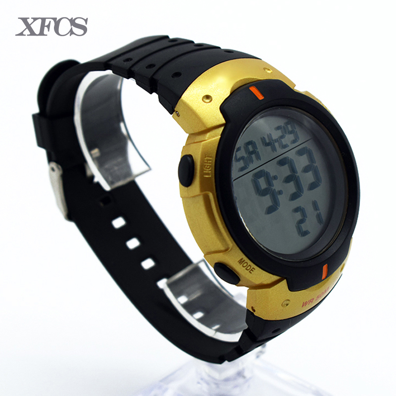 XFCS waterproof wrist digital watches for men digitais watch running mens man digitales clock accurately ots army multi-color tt
