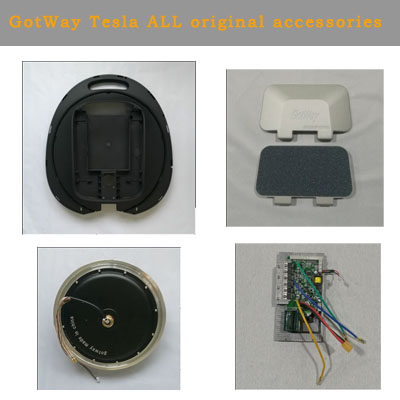 Gotway Tesla  Electric Unicycle All All Accessories Shell, Motor, Main Board, Battery, Lamp Shade, Lamp Belt, Side Cover Plate