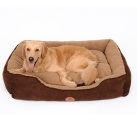 Warming Dog House Soft Material Nest Dog Baskets Beds Fall and Winter Warm Kennel For Cat Puppy Plus size