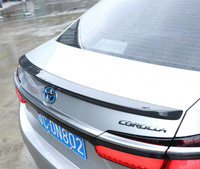 JINGHANG углеродного волокна заднего крыла Спойлеры ствола губы для 13 18 Toyota Corolla 2013 2014 2015 2016 2017 2018