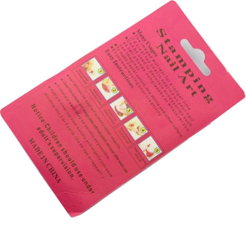 MAKARTT 3 in 1 DIY Nail Art Stamping Art Set Stamping Nail Art Kit ...