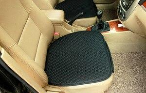 Image 4 - 1 conjunto de assento do carro capa de almofada estilo do carro acessórios do carro conjunto almofada esteira cadeira almofada para carro