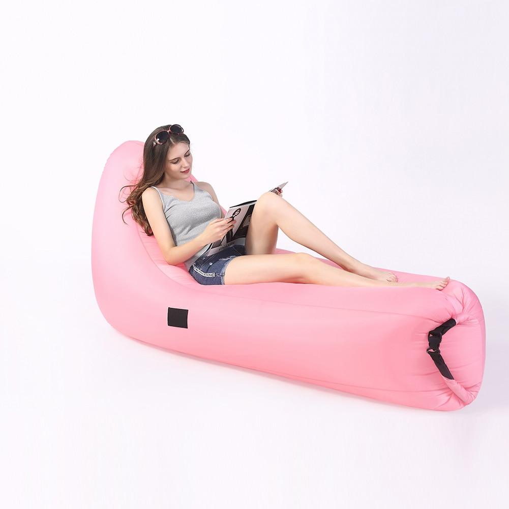 Inflatable Air Bean Bag Chair Waterproof Dacron Beanbag Recliner Home Sleeping Rest Sofa Wwo66 Bathroom Safety & Accessories