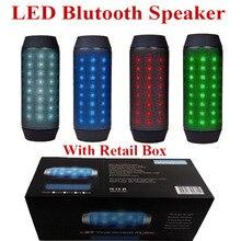 Best Quality LED Bluetooth Speaker BQ-615 Support TFCard FM Radio Computer Bicycle Speakers Wirless LED Amplifier Speaker