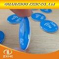 3 teile/los Wasserdicht Blau Kristall Epoxy NFC Tag Ntag213 für Alle NFC Handys-in Zutrittskontrollkarten aus Sicherheit und Schutz bei