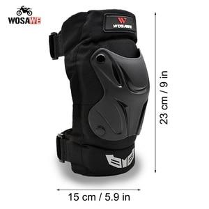Image 2 - WOSAWE motocykl 4 sztuk/zestaw łokieć i ochraniacze na kolana ochrona Moto sprzęt ochronny Motocross ochraniacze Sport pancerz zestaw PE Shell