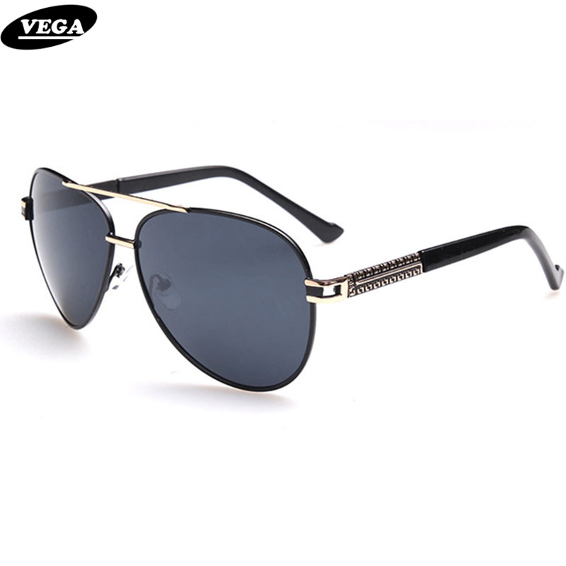 b73964416ed VEGA Wrap Around Pilot Sunglasses Unisex Classic Authentic Navy Air Force Sunglass  Hipster Glasses Photochromic Lenses