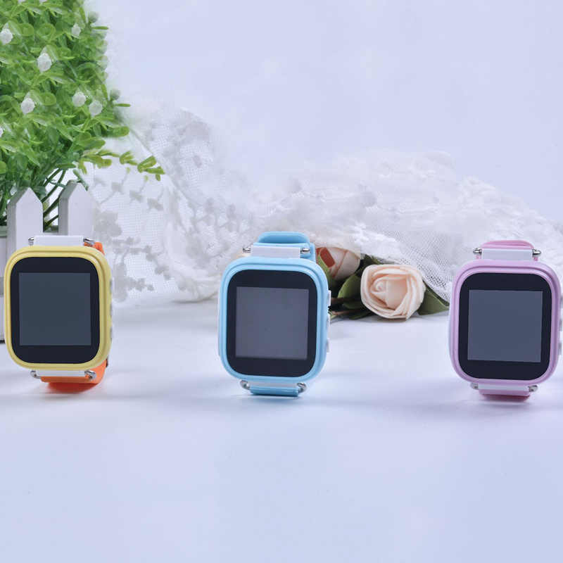 Smart Watch Kids Baby Watch GPS Positioning Fashion Phone Watch 1.22 Inch Color Touch Screen SOS Smart Watch