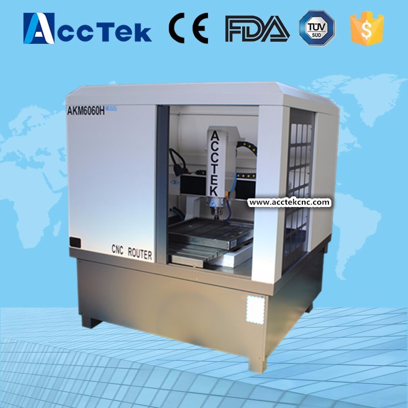 Precision Small fast speed 6060 cnc mold milling machine cnc router for metal engraving
