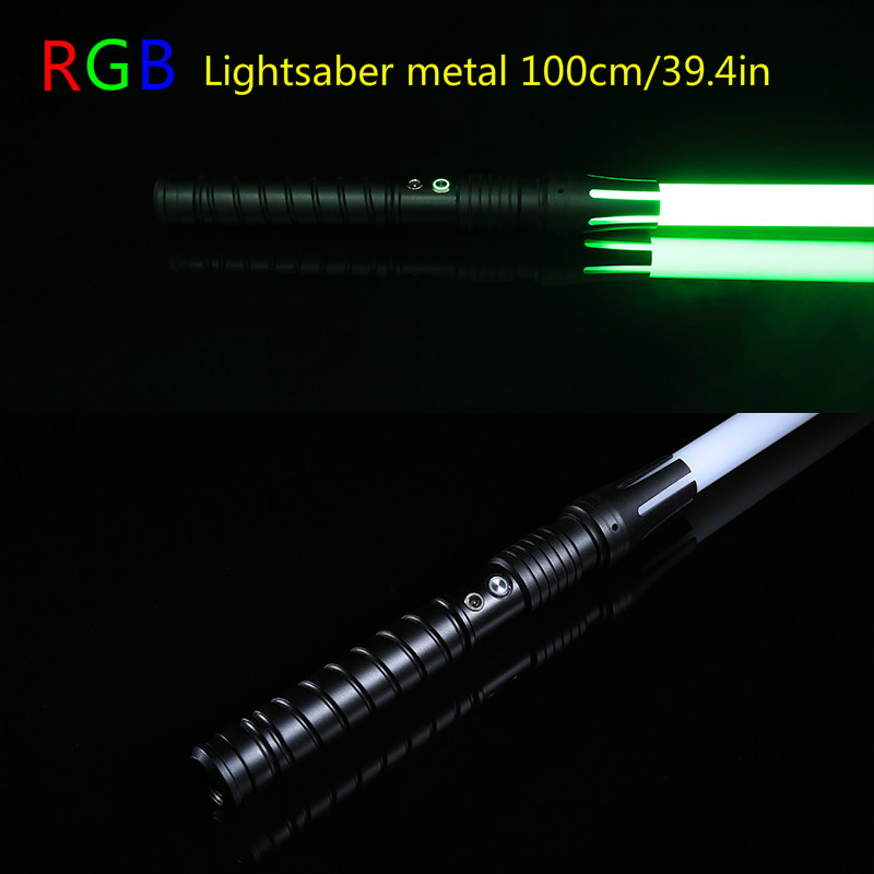 11 Colors Lightsaber Boy Gril Toy Flashing Sword RGB Sword Cosplay Interesting Star Laser Emitting Outdoor Creative Children Toy