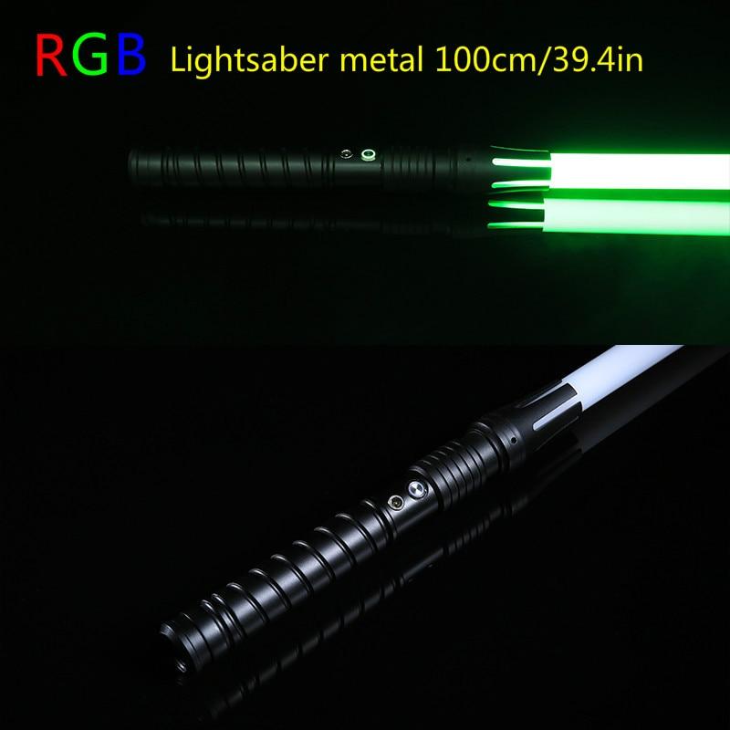 11 couleurs Sabre Laser Garçon Gril Jouet Clignotant Épée RGB Épée Cosplay Intéressant Étoiles Laser Émettant Créatives En Plein Air Enfants Jouet