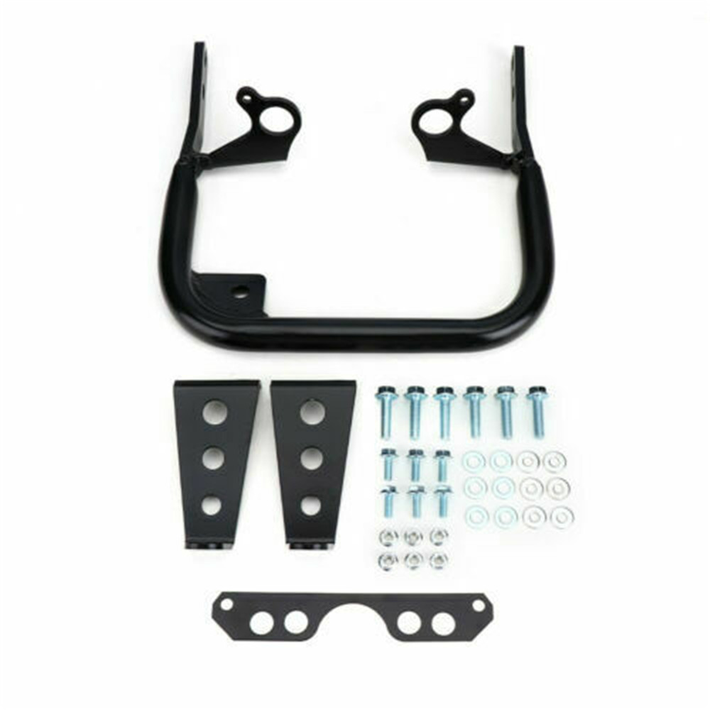 ATV For Yamaha YFZ 450 Black Rear Wide Grab Bar Bumper 2004-2013 2005 2006 2008 2010 2012