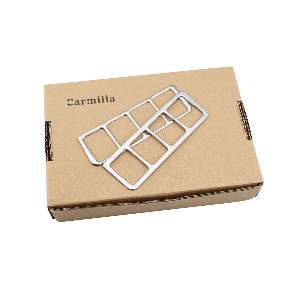 Carmilla Rustfrit Strålelys Kontrolpanel Trim Klistermærke Til - Bilinteriør tilbehør - Foto 5