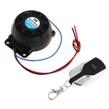 Motorcycle Anti-theft Security Alarm System Burglar Alarm Remote Control Security Engine Antifurto Moto Sirena