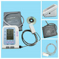 Электронный цифровой монитор артериального давления на руку CONTEC  датчик SPO2  измеритель сердечного ритма  Сфигмоманометр с оксиметром