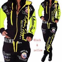 ZOGAA 2018 New Women Sets Hoodies Pant Clothing 2PCS Set Warm New Women Ladies Letter Tracksuit Set 2pcs Tops Pants Suit Female 2pcs aduc7027bstz62 lqfp80 new