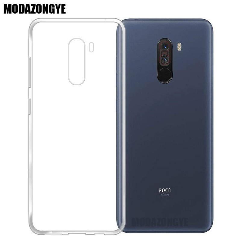 Xiaomi Pocophone F1 Case Xiaomi Poco F1 Case Soft Transparent TPU Back Cover Phone Case Xiaomi Pocophone F1 F 1 Global Version