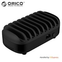 ORICO 10 Ports Multi 120W 5V2 4A 10 USB Charger Station Dock With Holder For Phone