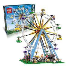 LEPIN 15012 City Creator Expert Ferris Wheel Model Building Kits Blocks  2478Pcs Bricks  Toys