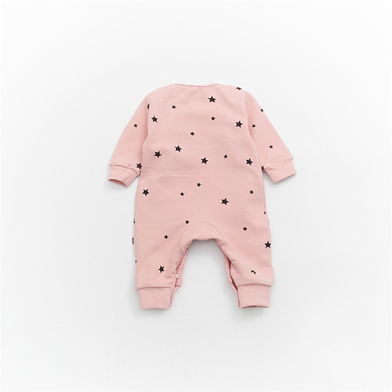 ad69a008db1 Baby Girls Long Sleeve Warm Romper Jumpsuit Playsuit Moon Outfits Baby  Princess One Piece Cute Infant Girl Rompers Baby Clothing Tags