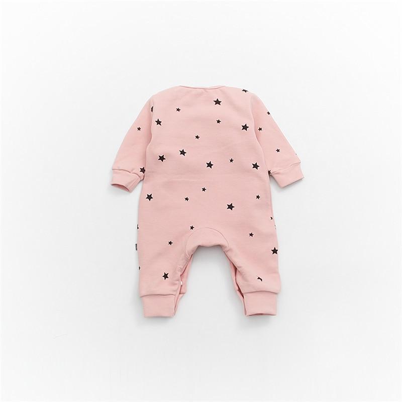 185912e11 Buy Baby Girls Long Sleeve Warm Romper Jumpsuit Playsuit Moon ...