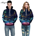 Adogirl Europe America Men/Women Hooded Hoodies Space Hoody With Pockets Hooded 3d Sweatshirt Lovely Tracksuits Outwear