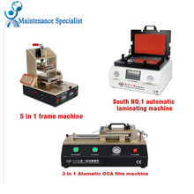New TBK 808 Automatic Bubble Removing Laminating Machine 5 in1 Frame Separator machine Automatic OCA Film