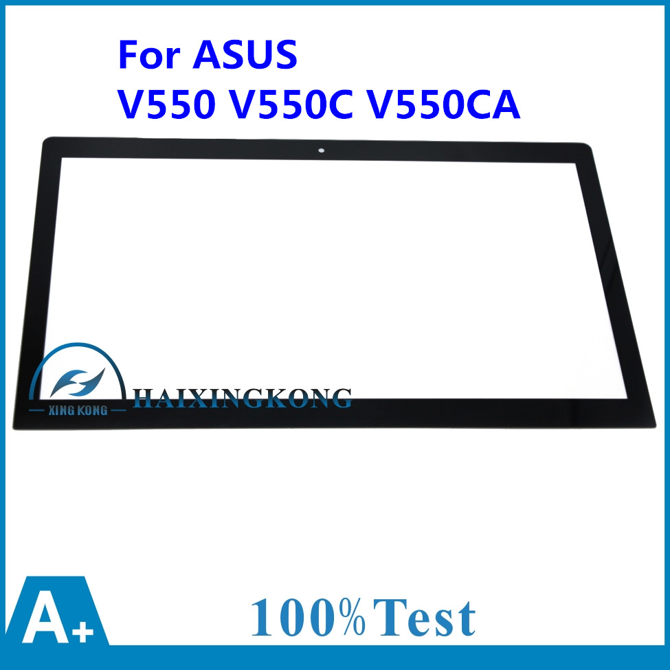 100% NEW 15.6 For Asus V550 V550C V550CA  Touch Screen Touch Panel Digitizer Glass Lens Repair Parts Replacement TOP15I97 V1.0 new touch screen glass nt620c st141 glass panel for repair