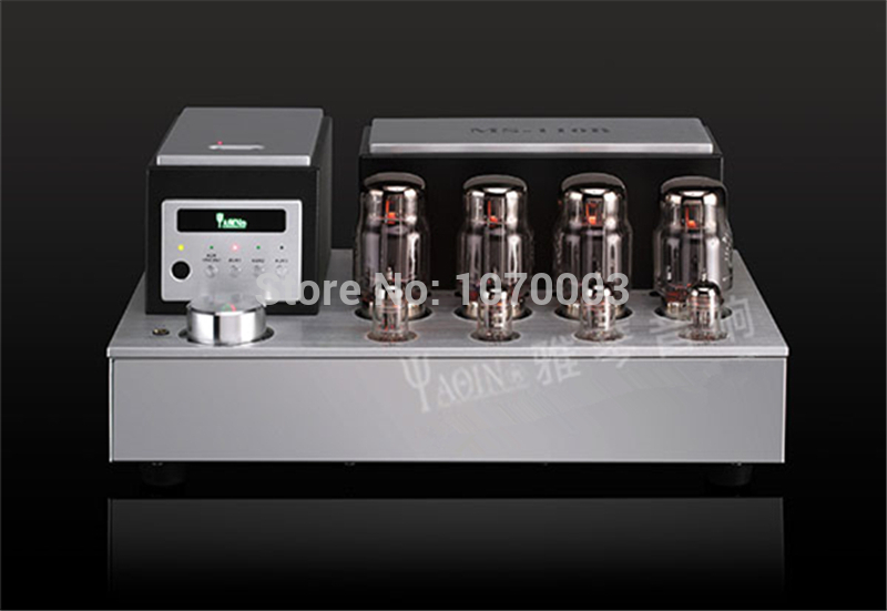 YAQIN MS-110B Vacuum Tube Home Amplifier SRPP Circuit KT88-98 Class A HIFI Amplifier B1 Amp 4~8 ohm 2*50W 110V/220V hot sell psvane el34 tube amplifier class a power amp high end brushed metal panel hifi amplifier 110v 220v