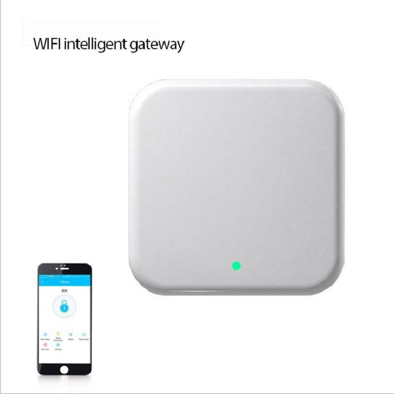 Bluetooth Wifi Gateway Fingerprint Password Smart  Electronic Door Lock Remote Control App Gateway TTLock App Gateway