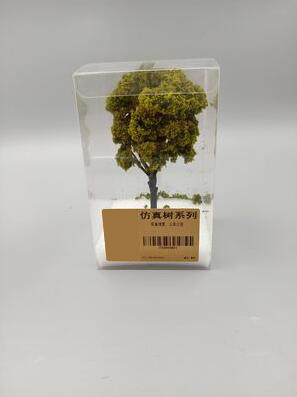 Miniature trees Sand Table Landscape Tree Model Vegetation simulation scenario model Building DIY garden materials toy models