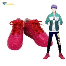 A3! Hyoudou Kumon Cosplay Shoes Red Boots