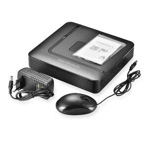 Image 2 - BESDER Mini DVR híbrido para vigilancia, grabador de CCTV de seguridad de 4 canales, 8 canales, AHD, DVR, 4 canales, 720P, 8 canales, 1080N, para AHD IP analógico