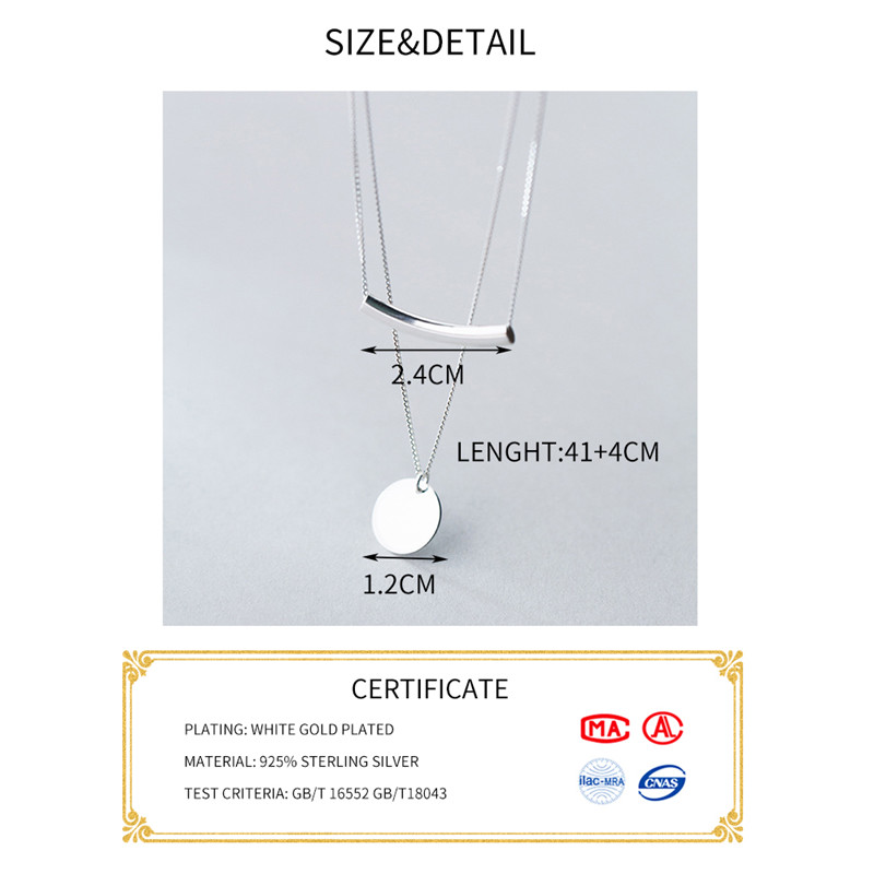 HTB1XaOKKf9TBuNjy0Fcq6zeiFXab INZATT Real 925 Sterling Silver Personality Pendant Necklaces Minimalist Choker Fine Jewelry For Women Party Cute Accessories