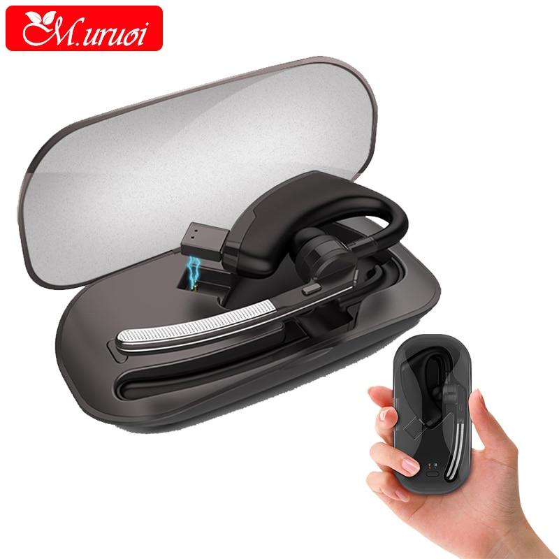 M. uruoi Sans Fil Bluetooth 4.1 Casque inear Écouteurs Sans Fil Casque Écouteurs avec Microphone Mains Libres pour Mobile Téléphone
