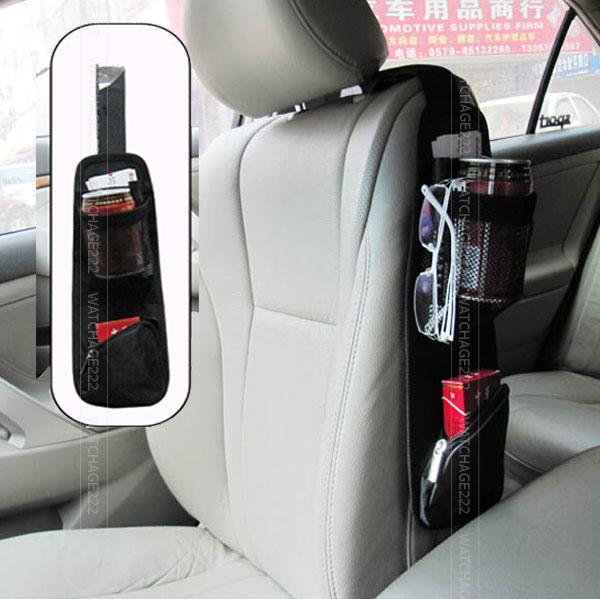 Auto Car Seat Side Storage Net Organizer Phone Cup Drink Bottle Holder Mesh Pouch String Bag Hanging Multi Porket Accessories In Stowing Tidying From