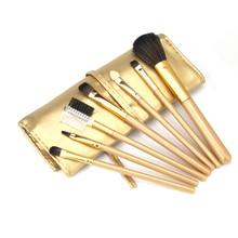 1 Set/7 PCS Wood Makeup Brush Make up Cosmetic Tools Beauty Brushes Set  u6818