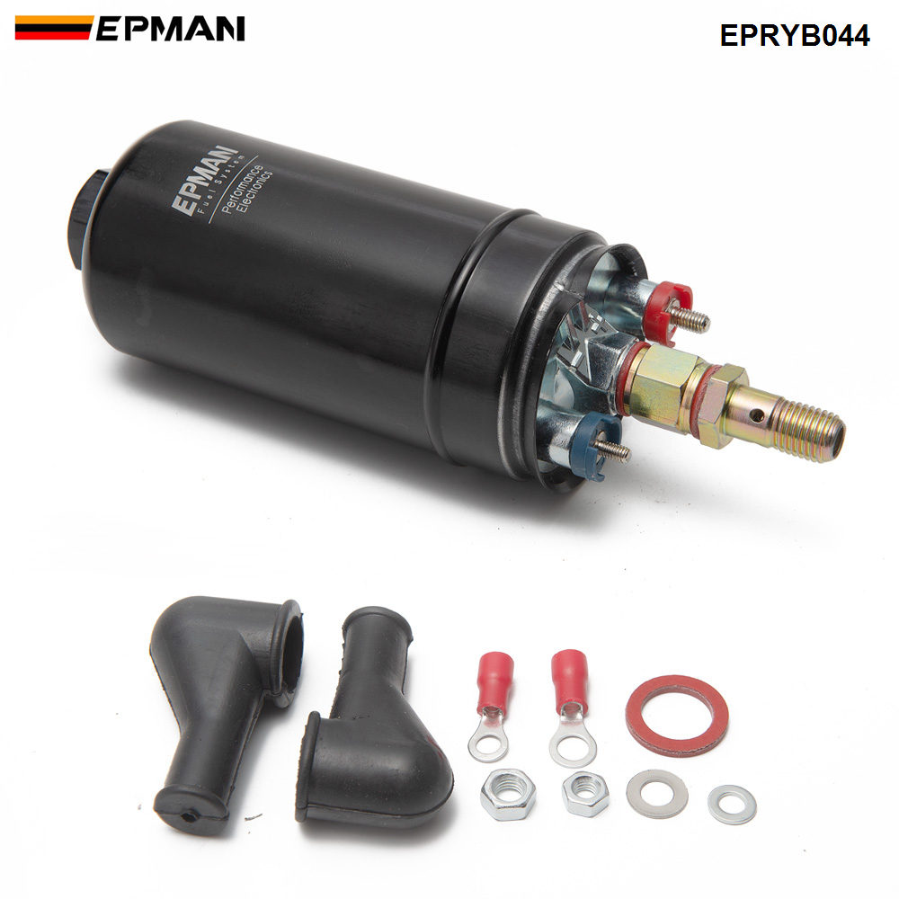 Performance 300lph External Fuel Pump 044 for OEM:0580 254 044 Poulor  H Q E85 Compatible  EPRYB044