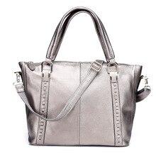 Новинка, европейский стиль, натуральная кожа, женская сумка через плечо, тонкая, прошитая нить, одноцветная, женская сумка, сумки для пригорода
