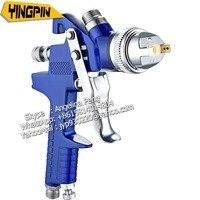 Free shipping spray gun HVLP Spray Gun Auto Feed Paint Spray Pistol Power Tools 1.4mm 1.7mm nozzle size car paint airbrush
