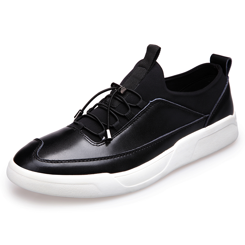 New 2017 Men's Genuine Leather Casual Shoes Korean Fashion Style Breathable Male Shoes Men Spring Autumn Slip-On Low Top Loafers spring autumn new men driving shoes fashion breathable leather casual shoes korean version lace up rubber men shoes z180