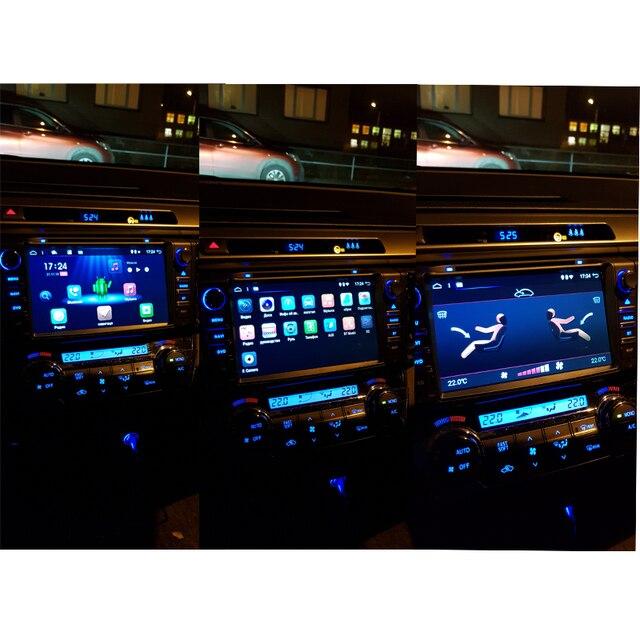 Octa core-autoradio de 8 pouces Android 9.0 2din | Pour 2013 2014 2015 RAV4, navigation radio avec GPS, Radio wifi, enregistreur